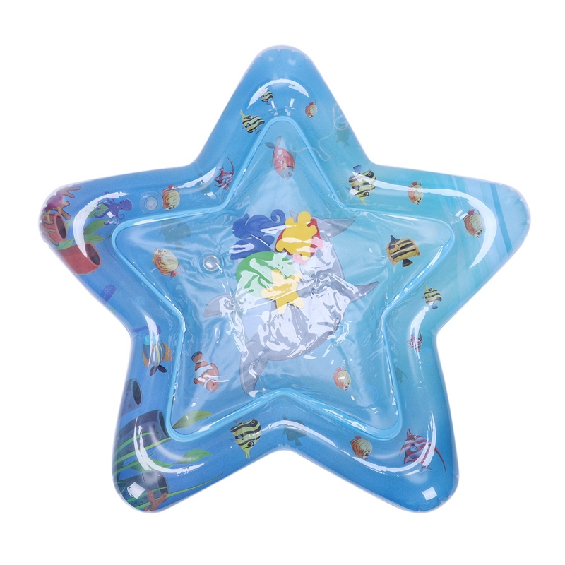 Baby Kids Water Play Mat Inflatable Thicken Pvc Infant Tummy Time Playmat Toddler Fun Activity Play Center Water Mat For Babie