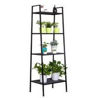 4 Tiers Shelf Unit Bookshelf Rack Storage Organization Book Storage Display Rack Storage Holders Home Decoration