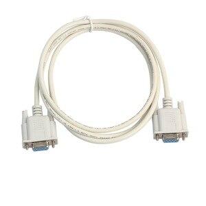 1 шт., 5 футов, F/F, серия RS232, кабель с нулевым модемом, гнездо к гнезду, DB9, FTA, перекрестное соединение, 9-контактный кабель для передачи данных, к...