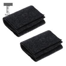 Tooyful упаковка из 2 шерсти Erhu шумоизоляционные накладки глушители коврики глушитель Erhu практичные части черный