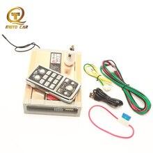 Bluetooth Speaker 200W Car Mp3 Player USB Wireless Remote Police Siren Waring Alarm Horn Megaphone Super Loud Multi Tone
