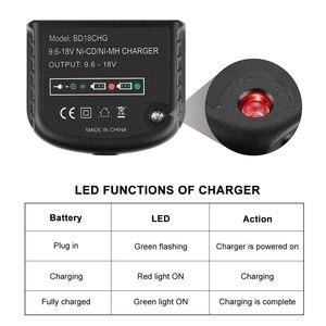 Image 5 - Cargador de batería multivoltios de 9,6 V 18 V para negro y Decker Ni Cd Ni MH batería Hpb18 hpb18 Ope Hpb12 Hpb14 Fsb14 Fsb18 Fs120Bx nos Pl