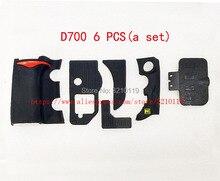 니콘 D700 USB 엄지 고무 접착 테이프 바디 고무 쉘 테이프 SLR 수리 부품에 대한 새로운 세트 그립 고무 커버 유닛