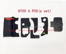 ชุดใหม่ Grip ยางฝาครอบชุดสำหรับ Nikon D700 USB Thumb ยางกาวเทป Body ยาง Shell เทป SLR repair part