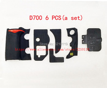 Nieuwe set Grip Rubber Cover Unit Voor Nikon D700 USB Duim Rubber Met Plakband Body Rubber Shell Tape SLR reparatie deel