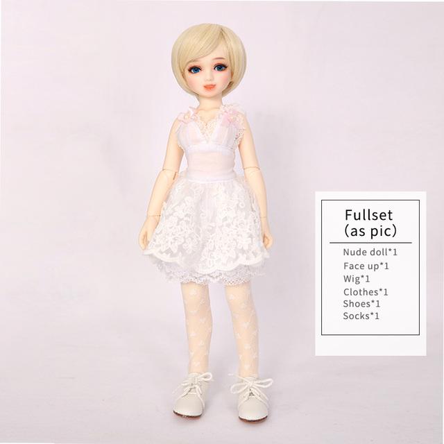 Free Shipping Unoa Chibi Lilin Doll BJD 1/6 Dollfie Multi Faceplates Prim Sleeping Wink Naughty Toy For Girl Best Birthday Gift