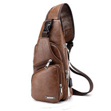 2018 New Style Fashion Solid Men's Canvas Sling Messengers Bag Travel Casual Cross Body Zipper Handbags(China)