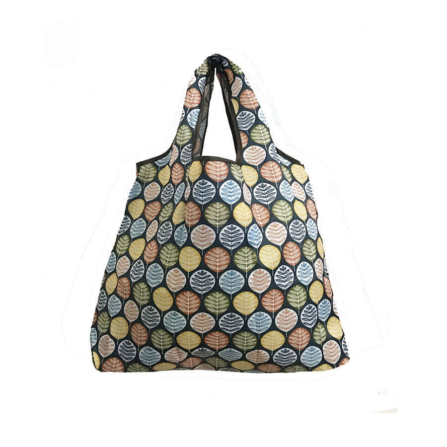2019 New Lady Foldable Recycle Shopping Bag Eco Reusable Shopping Tote Bag Floral Fruit Bunny Vegetable Grocery