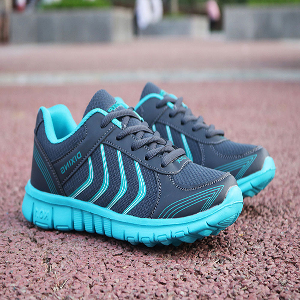 Fashion New Womens Shoes Sports Breathable Mesh Lightweight Wearable Running Shoes Ladies Sneakers Women Zapatos De Mujer #9Fashion New Womens Shoes Sports Breathable Mesh Lightweight Wearable Running Shoes Ladies Sneakers Women Zapatos De Mujer #9