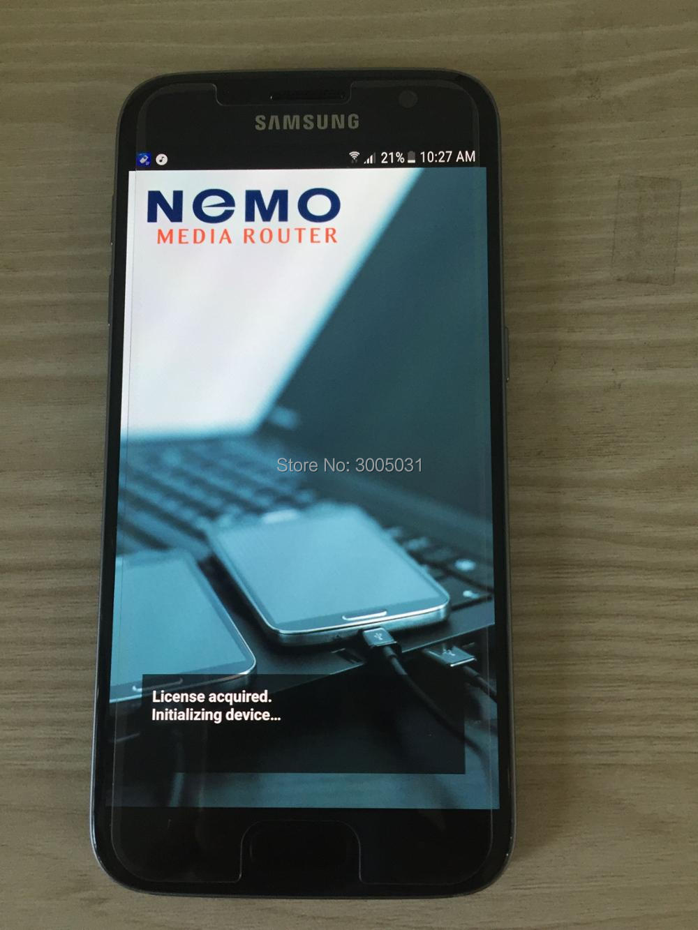 Free shipping dhl +S6 G928C nemo handy & NMR , support 2CA & 3CA & VOLTE ,polqa and qesq MOS .. ect test