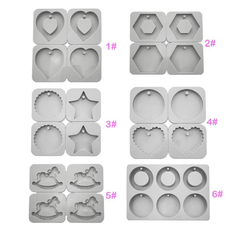 DIY Silicone Soap Mold Wax Crafts Ornaments Mould Silicone Candles Durable Aromatherapy Wax Mould Soap Flowers Mold Clay Crafts