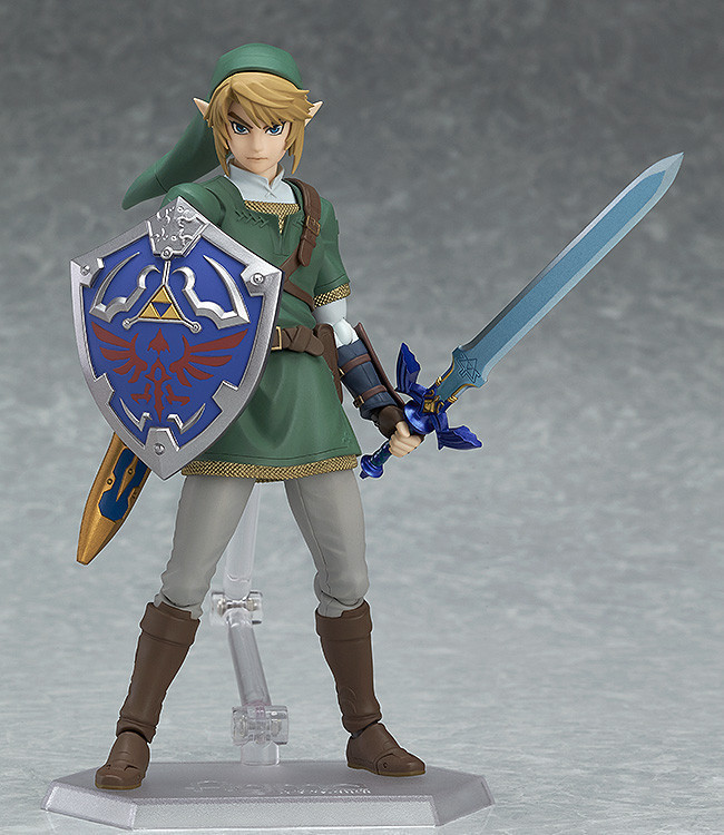 14cm Legend of Zelda Figma 319 Linke Salda Normal Edition Dusk Princess Toy Figure