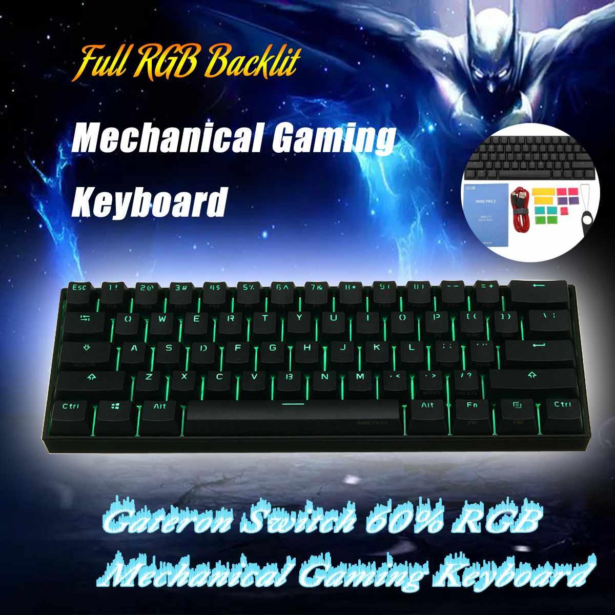 Gateron Switch Obins Anne NKRO bluetooth 4.0 Type-C RGB Mechanical Gaming Keyboard Computer PeripheralsGateron Switch Obins Anne NKRO bluetooth 4.0 Type-C RGB Mechanical Gaming Keyboard Computer Peripherals