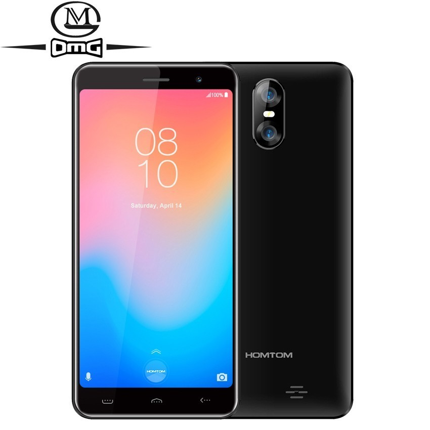 HOMTOM C13 Smartphone Android GO 5.0inch MT6580M Quad Core Mobile phone 1GB RAM 8GB ROM 2750mAh Dual SIM 3G cell phones