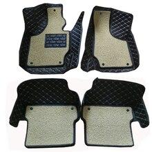 Carnong автомобильный коврик для AUDI TT 4 seat 2008 2016, полный комплект, два слоя, пожалуйста, внимательно проверьте его с вашим автомобильным модулем
