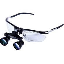 High Quality New Aluminum Frame Medical Loupes 3.5X Binocular Magnifier Medical Dental Surgical Loupes цены