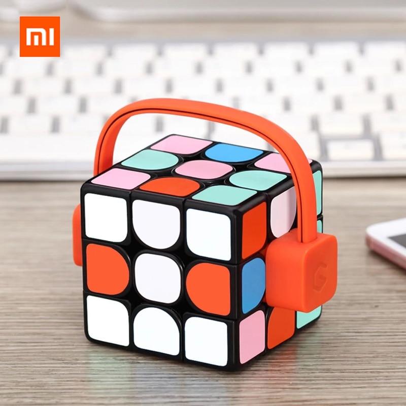 2018 Xiaomi Giiker Super Rubik 39 s Cube Apprendre Avec Plaisir Bluetooth Connexion de Détection Identification Intellectuelle Développement Jouet