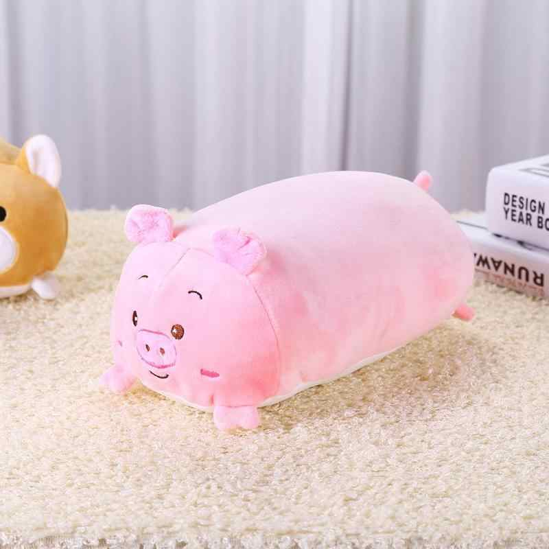 Милая плюшевая кукла поросенок детская мультяшная Толстая игрушечная свинка девочка мальчик Младенцы длу улучшения сна игрушки для детей день рождения рождественские украшения