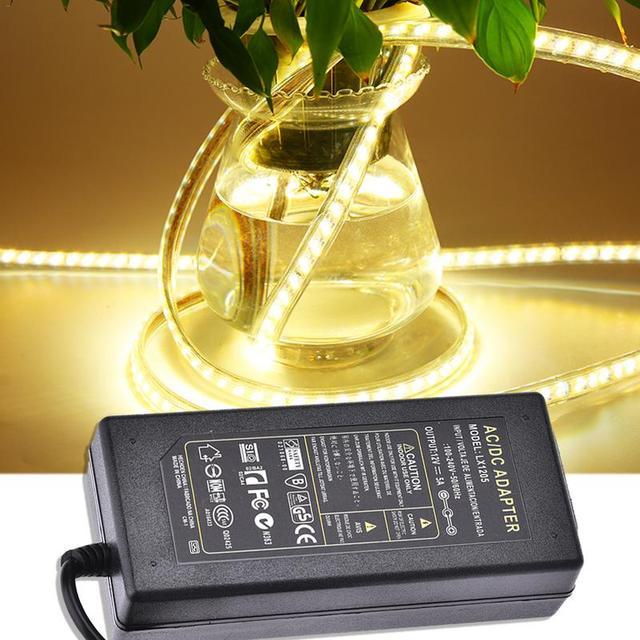 12V 5A LED AC 100 V 240 V 12V 5A 60W LED strip Lighting Transformers power adapter แหล่งจ่ายไฟสำหรับ Imax LED 5050 2835
