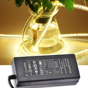 Image 1 - 12V 5A LED Sürücü AC 100 V 240 V 12V 5A 60W LED şerit aydınlatma Transformers güç adaptörü güç Kaynağı için Imax LED 5050 2835