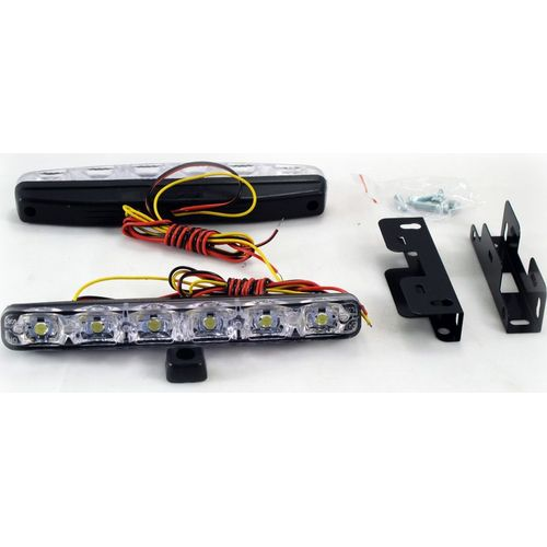 Running lights NACK Orion DRL-HP-6 (5045) a pair led drl light for mini cooper led drl waterproof 12v r55 r56 r57 r58 r60 r61 led daytime running light abs material