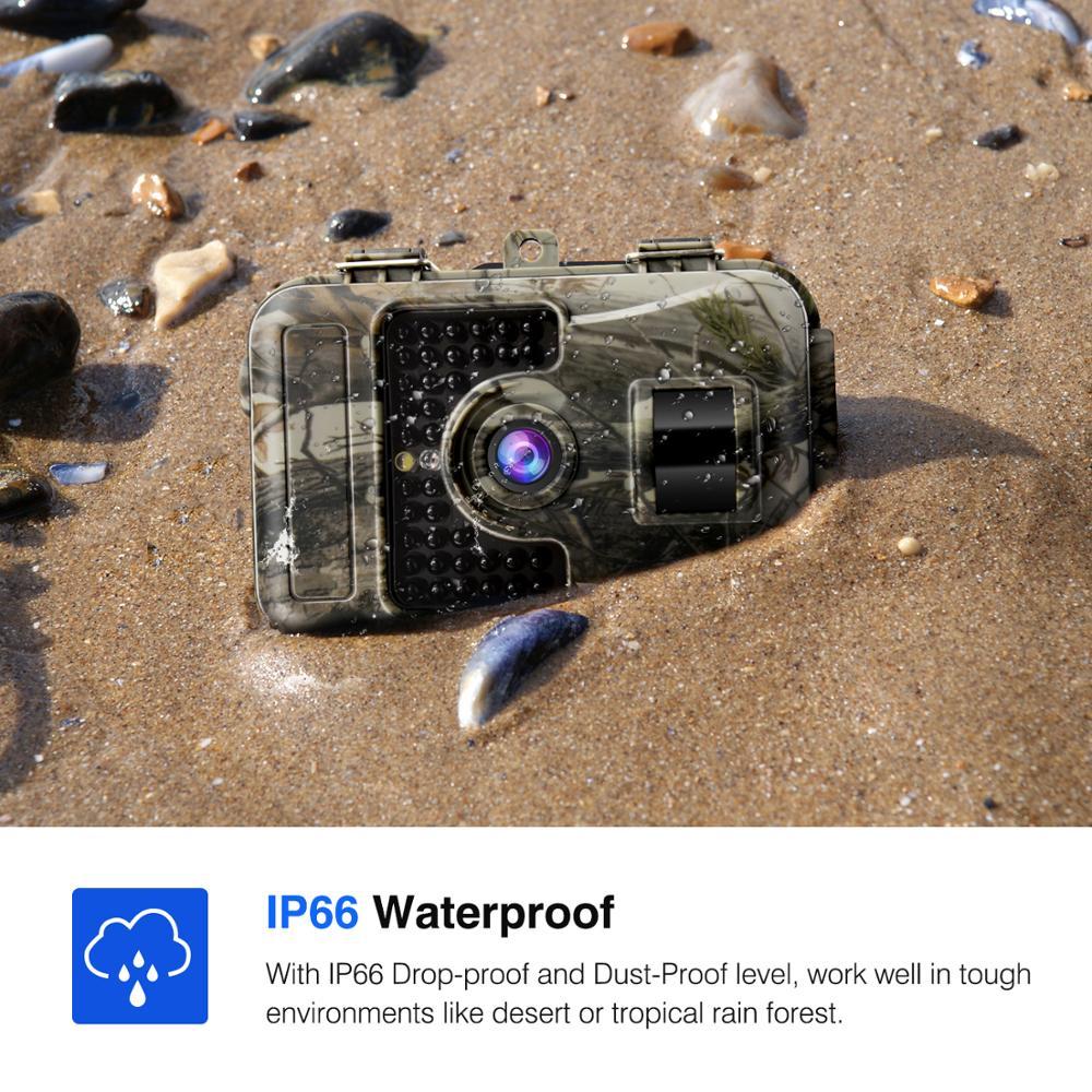 16MP 1080P caméra de chasse 0.6s mouvement rapide déclencheur numérique infrarouge Trail Cam vision nocturne caméra sauvage photo pièges caméra de jeu - 2