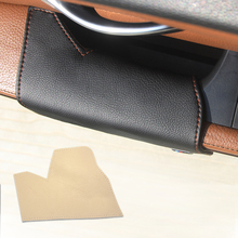 цена на for BMW X5 E70 2007 2008 2009 2010 2011 2012 2013 Car Cow Leather Left Driver Side Door Armrest Handle Pull Protection Cover
