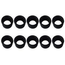 10x Rubber 2 Rod Holder Insert Protector for Marine Boat Fishing Bait Board Replacement Accessories