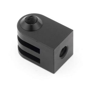Image 5 - Cnc Aluminum Alloy Mini Tripod Mount Outdoor Sports Camera Base Adapter For All 1/4 Inch Screw Monopod Accessory