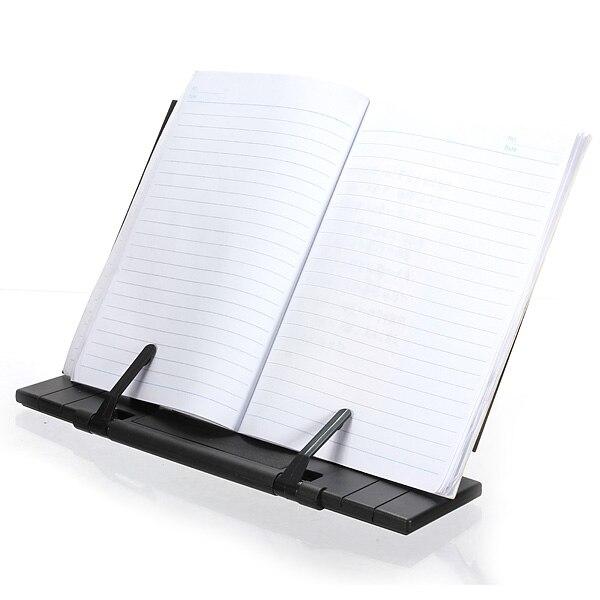 De la marca de calidad superior nueva ajustable portátil de acero de libro documento soporte escritorio titular atril