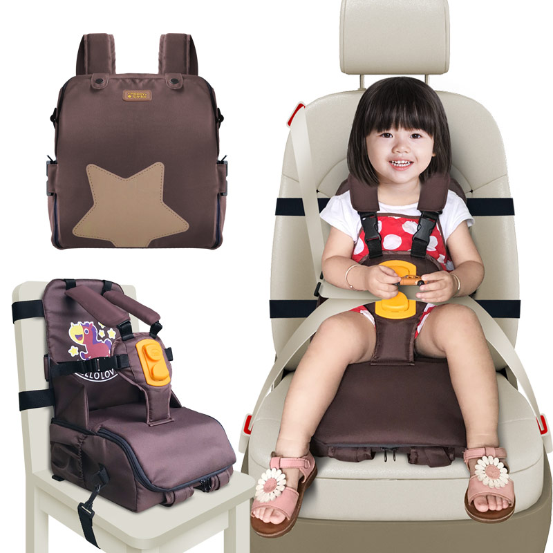 3 In 1 Multi-function For Storage And Carry With Shoulder Pads And Seat Strap Adapters Kids Portable Baby Seats & Sofa