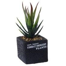 Имитация мини-суккулента в горшке пластиковая искусственная растение фотография на выбор