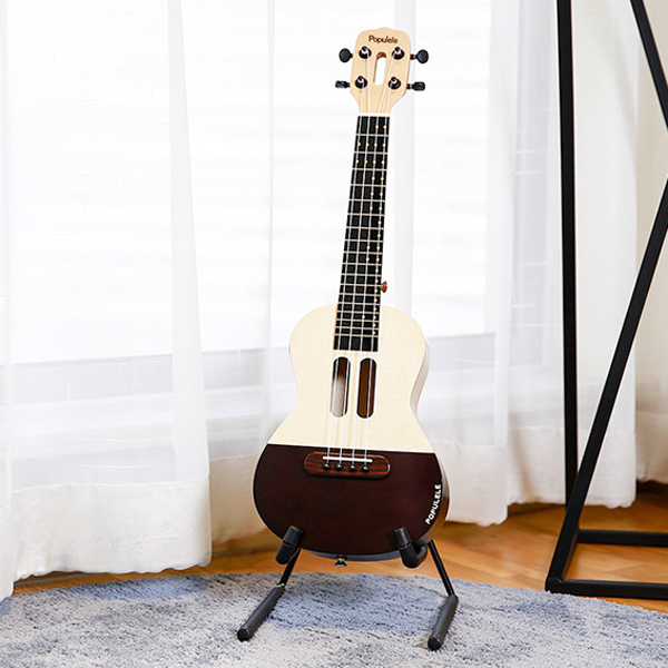 Populele 23 Inch APP LED Bluetooth USB Smart Ukulele Gift For Beginners User Friendfly Pinao Toy Musical Instrument - 6