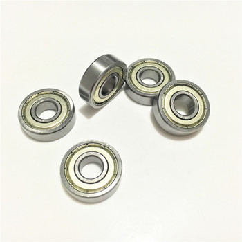 2pcs 6801ZZ 6801 ZZ 2Z 6801-1Z 6801-2Z 12x21x5 mm Deep Groove Ball Bearing Metal Shielded 10*19*5 image