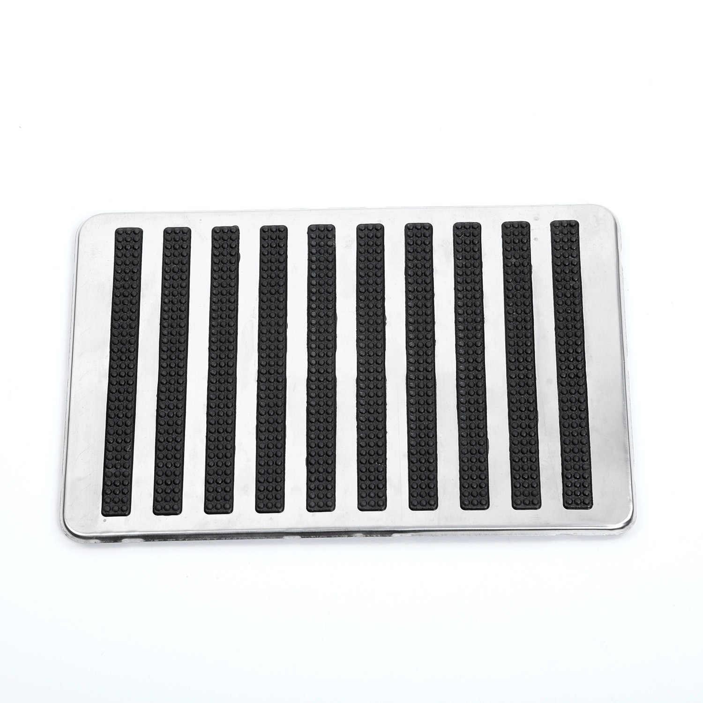 23.5X16cm Car Inner Floor Carpet Mat Patch Foot Rest Heel Plate Pedal Pad Spare