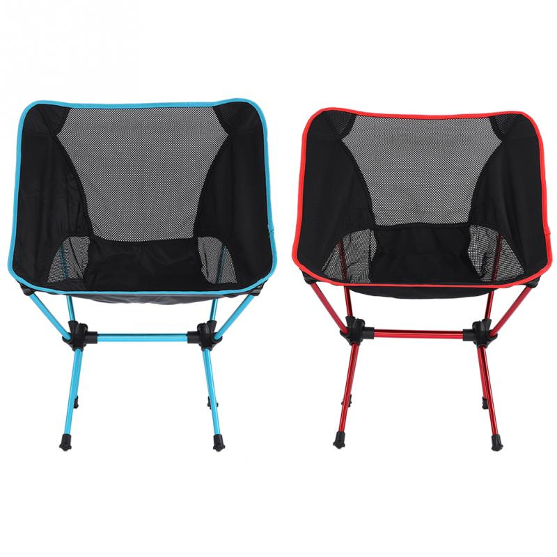 Outdoor Folding Fishing Chair Lightweight Camping Picnic Garden Folding Chair Seat With Backrest Fishing Chair Fishing Tools