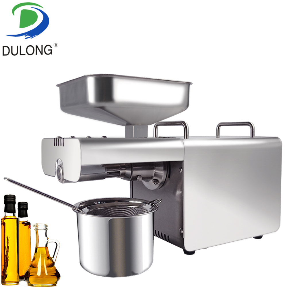 Stainless steel oil press machine hemp baobab sesame seed cashew processing mustard oil expeller machine mustard oil can