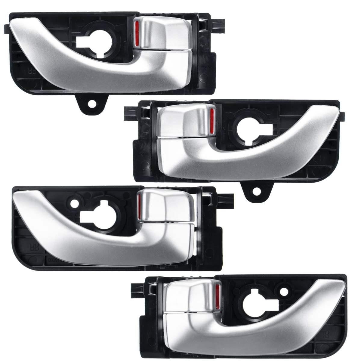 4pcs Set Front Rear Inside Door Handle For Hyundai Sonata 2005 2006 2007 2008 836203k020xz 836103k020xz Interior Door Handles Aliexpress