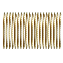 21Pc Golden Guitar Fret Wire Fretwire Set 2mm Brass for Folk/Acoustic Parts Accessories