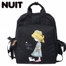 Female Oxford Backpack Bags Women Girls Bag Woman Fashion Both Shoulders College Student Campus Schoolbags
