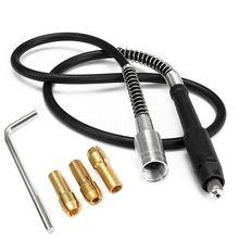 CNIM Горячая 107 см 42 дюйма Проводной Электрический гибкий Вал+ L ключ для Dremel поворотный инструмент