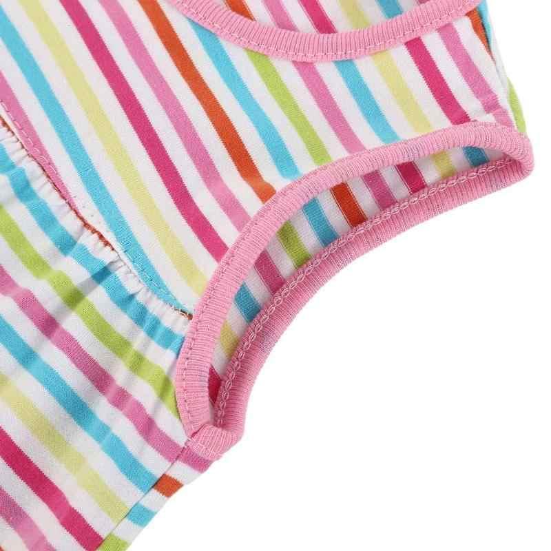 Weiche Baumwolle Infant Kleinkinder Kleider Baby Print A-linie Kleider Nette Ärmellose Kleidung Sommer Kleidung für Prinzessin Mädchen Outfit