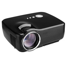 Projector, Mini Projector Portable Video LED Projector HD for Outdoor Indoor Movie/Home Cinema Theater/Game(China)