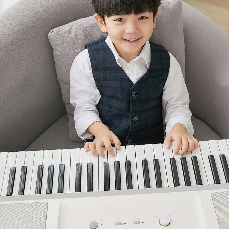 Nouveauté Xiaomi Youpin 61 touches AI vérifier intelligent électronique orgue clavier Piano soutien APP intelligent jouer éducation écouteur - 2