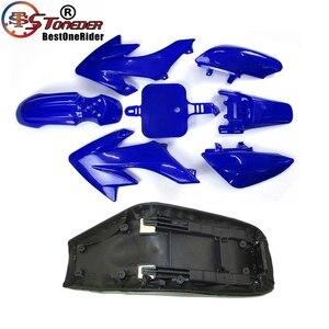 Image 4 - Stoneder Plastic Kuip Body Kits & Tall Foam Seat Voor Honda CRF50 XR50 Pit Dirt Motor Trail 50cc 160cc Thumpstar lifan Yx Dhz
