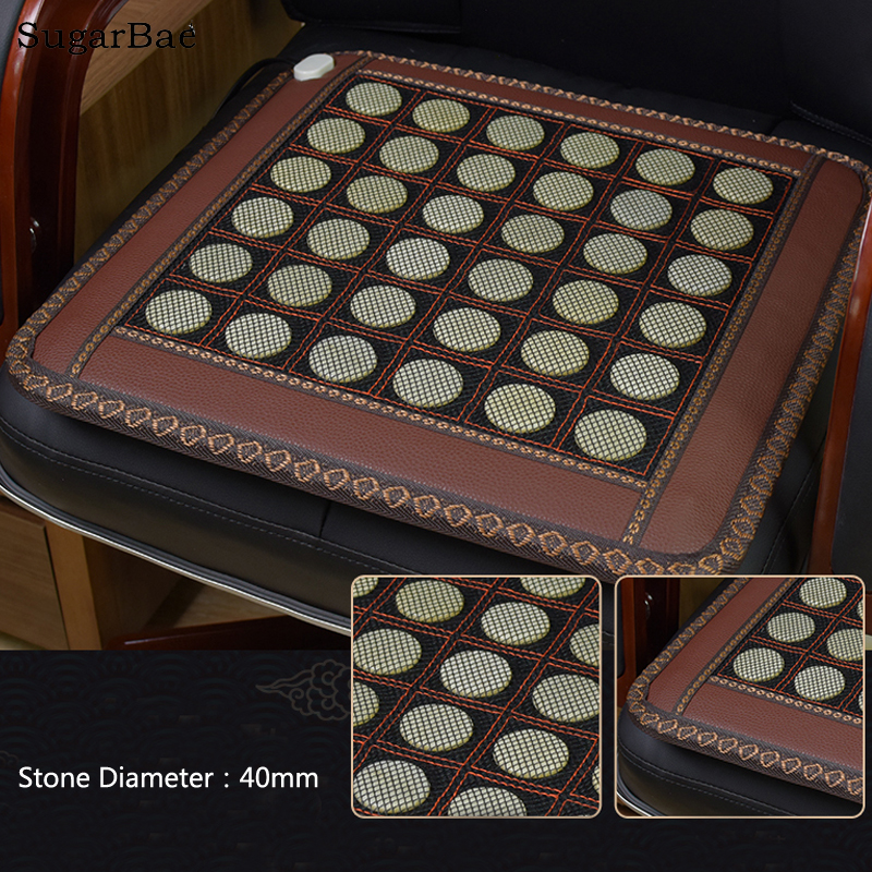 45x45CM Health Care Heating Jade Cushion Natural Tourmaline Mat Physical Therapy Mat Heated Jade Mattress For Sale health care heating jade cushion mattress natural tourmaline physical therapy mat heated jade mattress 1 2x1 9m free shipping