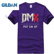 GILDAN New DMX Ruff Ryders Anthem Rap Hip Hop Music Mens Black T Shirt Size S To 3xl Summer Fashion Funny Print Shirts