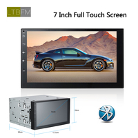 LTBFM 7 Inch HD 2 Din Android Car Radio Stereo Touch Screen Autoradio GPS Navigation Multimedia DVD Player Bluetooth Mirror Link