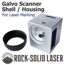 Laser Galvo Scan Head Housing Shell Case Fiber CO2 UV laser Galvanometer Scanner Marking Machine Parts Factory Wholesale