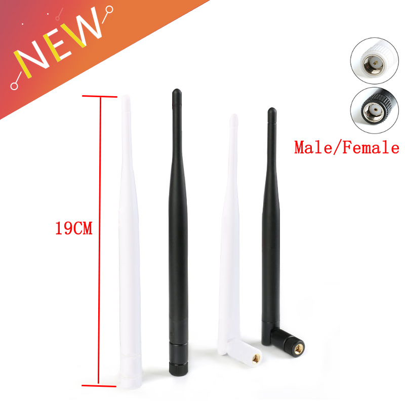2.4GHz 6dBi Omni WIFI Antenna 2.4G Antenna Aerial RP-SMA Bluetooty Male Female Wireless Router Connector IEEE WLAN/WiMAX/MIMO